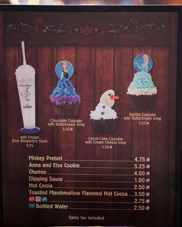 Disney's Hollywood Studios - Frozen Summer Fun Treats