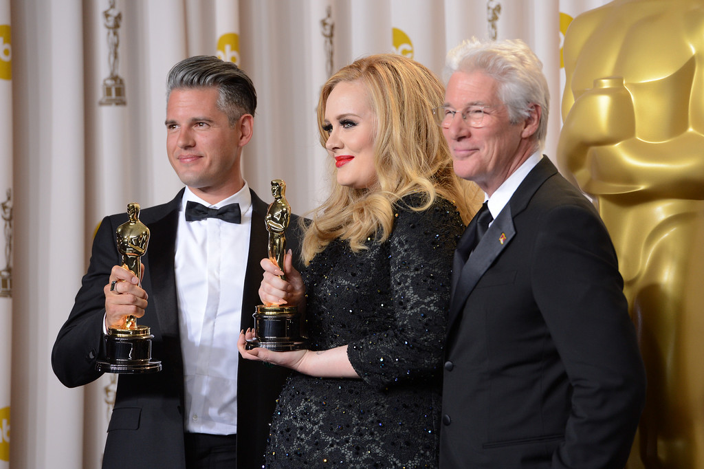 . backstage at the 85th Academy Awards at the Dolby Theatre in Los Angeles, California on Sunday Feb. 24, 2013 ( David Crane, staff photographer)
