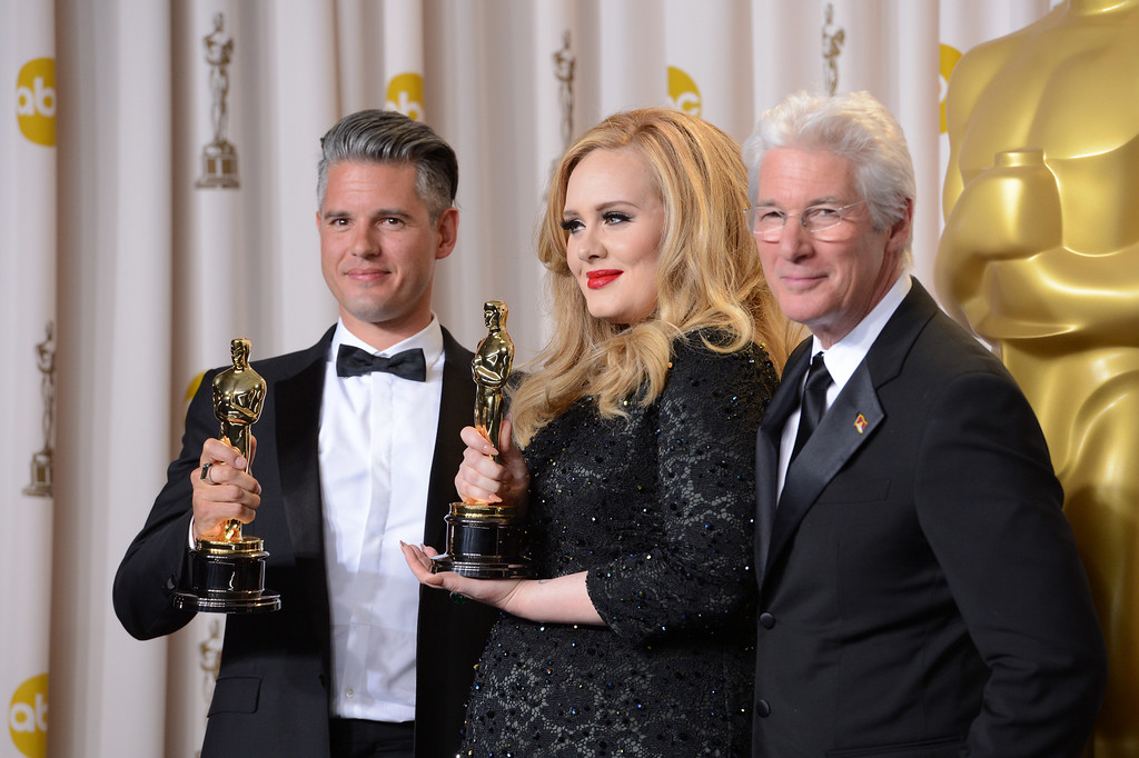 Description of . backstage at the 85th Academy Awards at the Dolby Theatre in Los Angeles, California on Sunday Feb. 24, 2013 ( David Crane, staff photographer)