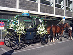 This carriage looked perfect for a princess.