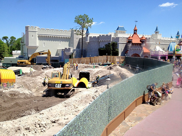 Magic Kingdom Construction