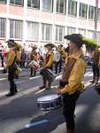 These drummers were fantastic.