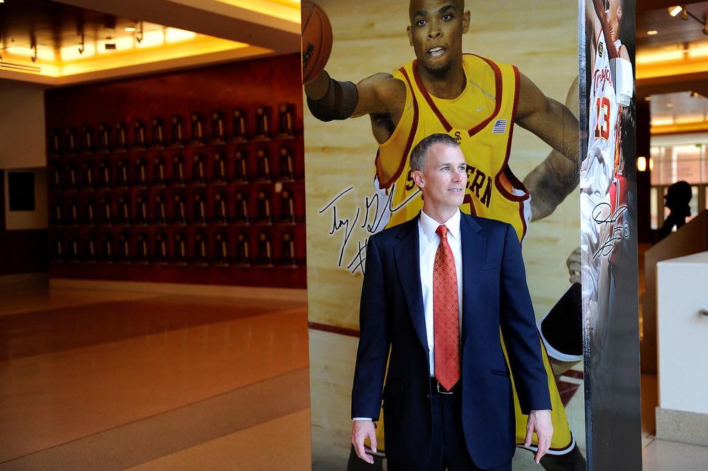 . Andy Enfield is USC\'s new men�s basketball coach, Wednesday, April 3, 2013. (Michael Owen Baker/Staff Photographer)