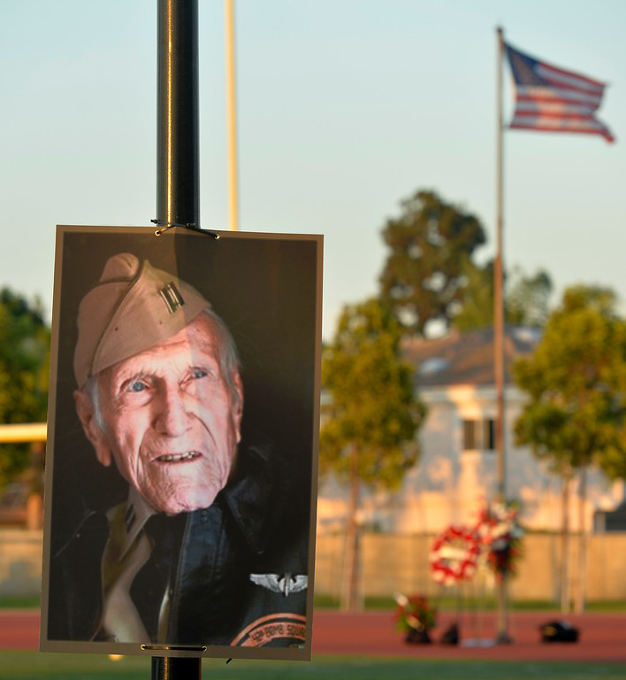 . Louis Zamperini Celebration of Life in Torrance CA. Thursday July 31, 2014. (Thomas R. Cordova-Daily Breeze/Press-Telegram)