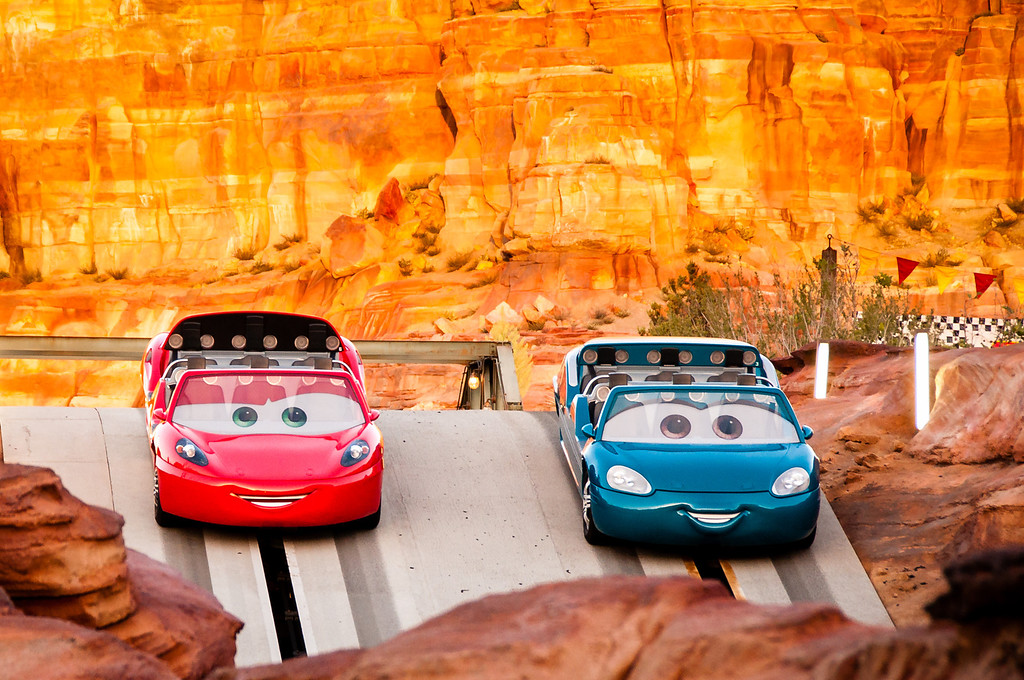 Radiator Spring Racers at Disney California Adventure