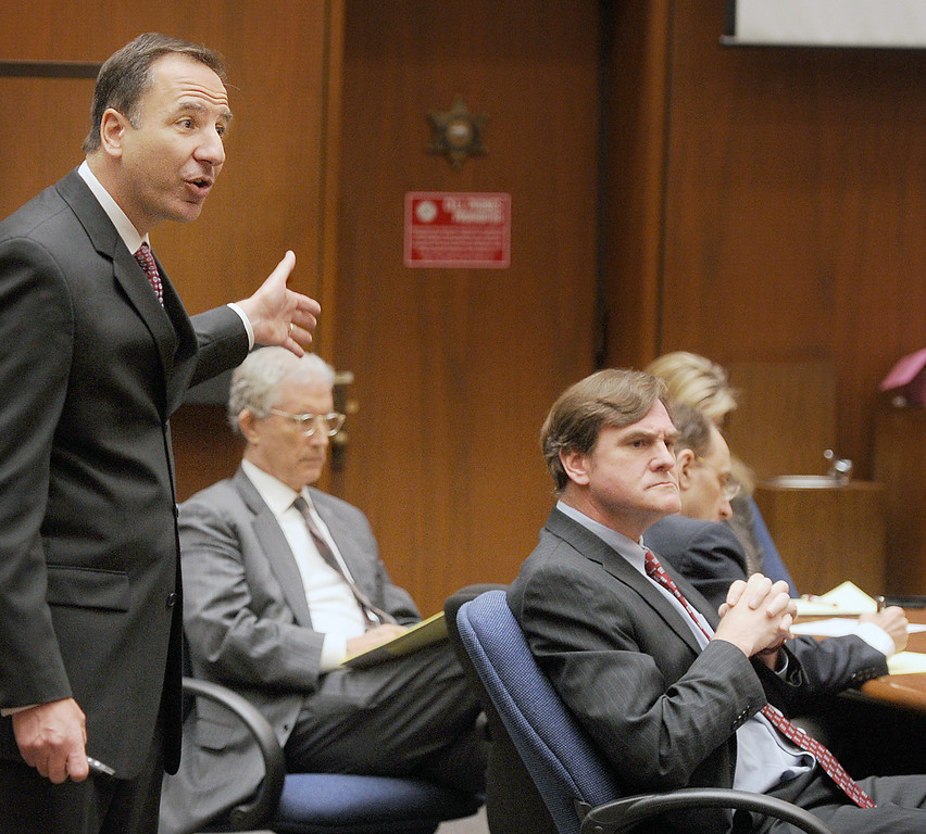 . Final arguments by prosecutor Habib Balian in the murder trial of Christian Karl Gerhartsreiter, at Clara Shortridge Foltz Criminal Justice Center in Los Angeles Tuesday,  April 9, 2013. He has pleaded not guilty to the killing of John Sohus, 27, who disappeared with his wife, Linda, in 1985 while Gerhartsreiter was a guest cottage tenant at the home of Sohus\' mother, where the couple lived. (Photo by Walt Mancini/SGVN)