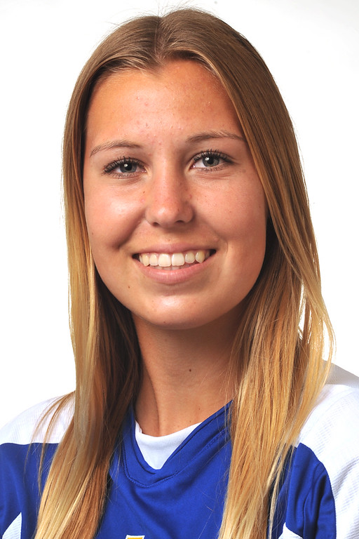 . Madison Bennett from La Mirada High School was selected to the Whittier Daily News All-Area Girls Soccer team on Wednesday March 27, 2013. (SGVN/Staff Photo by Keith Durflinger)