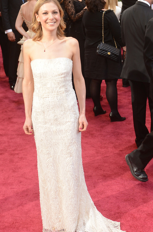 . lucy Alibar arrives at the 85th Academy Awards at the Dolby Theatre in Los Angeles, California on Sunday Feb. 24, 2013 ( Hans Gutknecht, staff photographer)