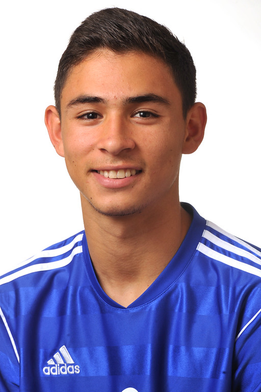 . Alex Roldan from El Rancho High School was selected to the Whittier Daily News All-Area Boys Soccer team on Wednesday March 27, 2013. (SGVN/Staff Photo by Keith Durflinger)