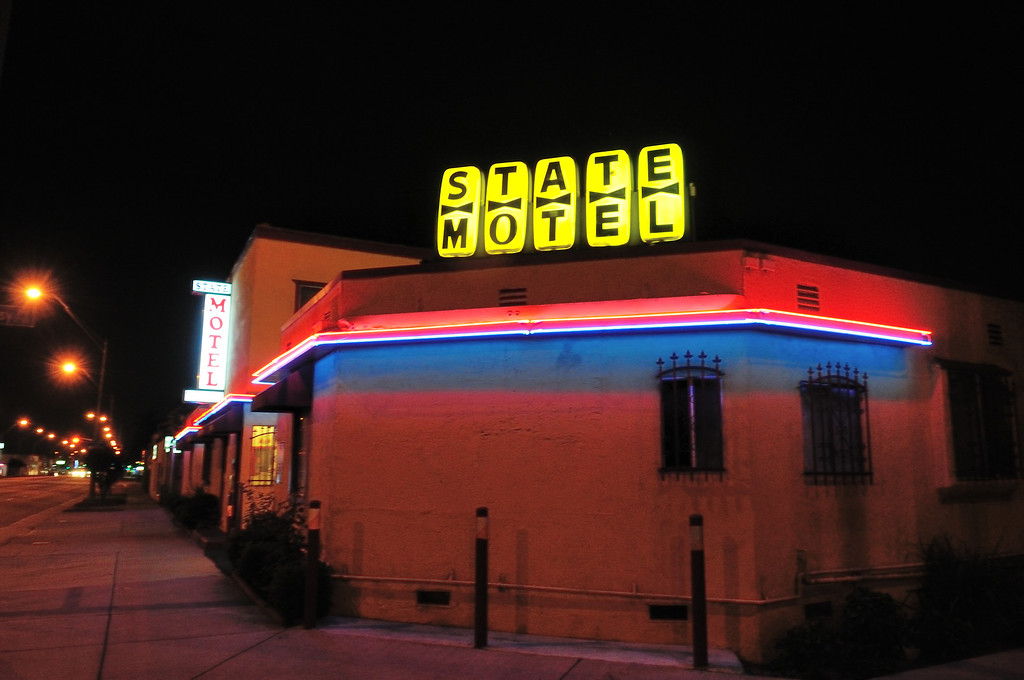 . State Motel on PCH down the street from the El Capitan Motor Inn.Photo by Thomas Wasper for the Press Telegram