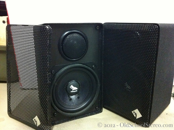 loading audiophile bookshelf image ls fiber itm s woven cones ohms way is speakers teac