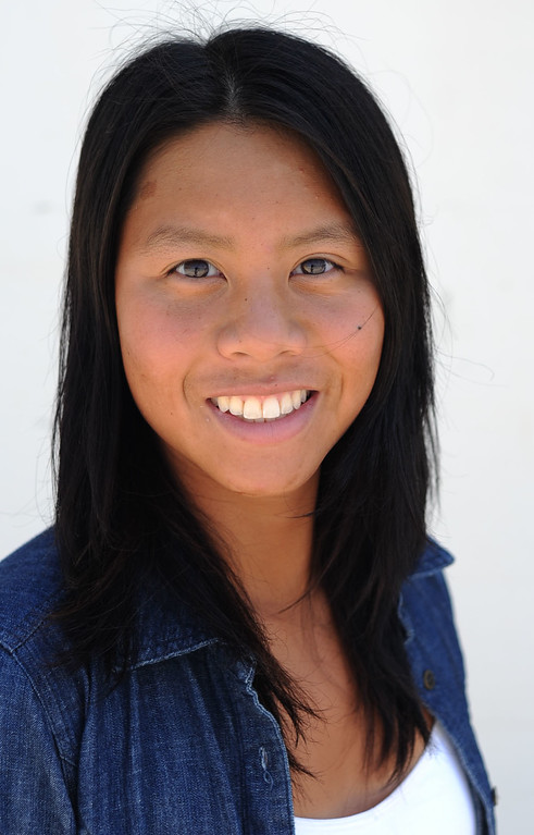 . West High\'s Christina Ngo, All-Area Swimmer 2012. 20120614 Photo by Steve McCrank / Staff Photographer
