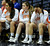 The St. Joseph Bench looks dejected in the first half. Chaminade played St. Joseph in the Girls Div. 3A Finals at the Anaheim Convention Center in Anaheim, CA 2/23/2013(John McCoy/Staff Photographer)