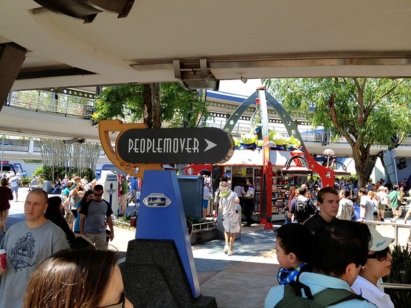 PeopleMover - Magic Kingdom