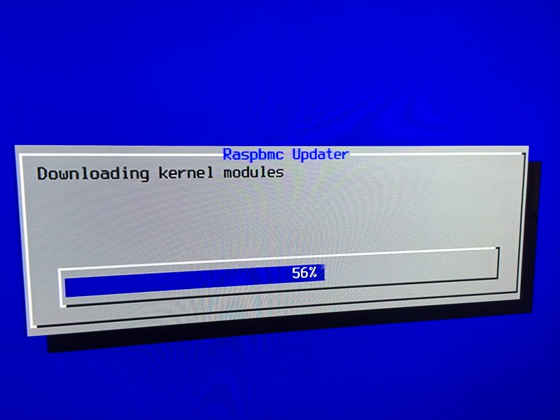Raspbmc Downloading Kernel Modules