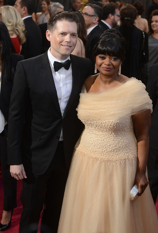 . Octavia Spencer arrives at the 85th Academy Awards at the Dolby Theatre in Los Angeles, California on Sunday Feb. 24, 2013 ( Hans Gutknecht, staff photographer)