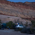 Our camp at Teapot
