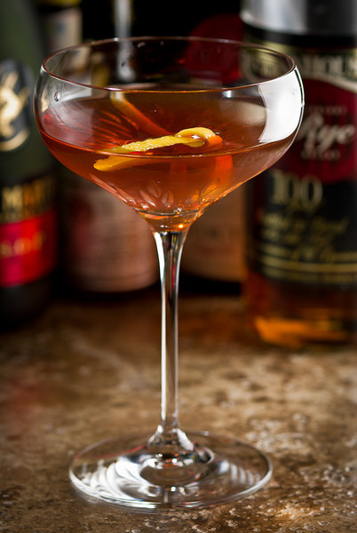 The Vieux Carr Cocktail, photo copyright  2012 Douglas M. Ford. All rights reserved.
