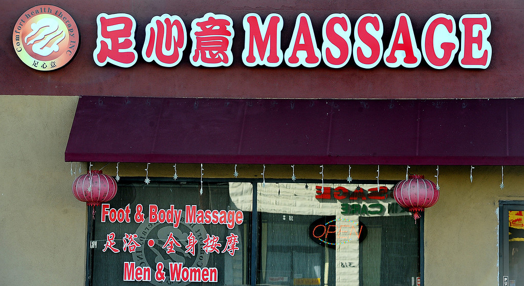 Description of . Massage establishments on San Gabriel Boulevard in San Gabriel. City of San Gabriel received a report on massage establishments and  there are 52 of them in the small city Thursday, November 7, 2013. Photo by Walt Mancini/Pasadena Star-News)