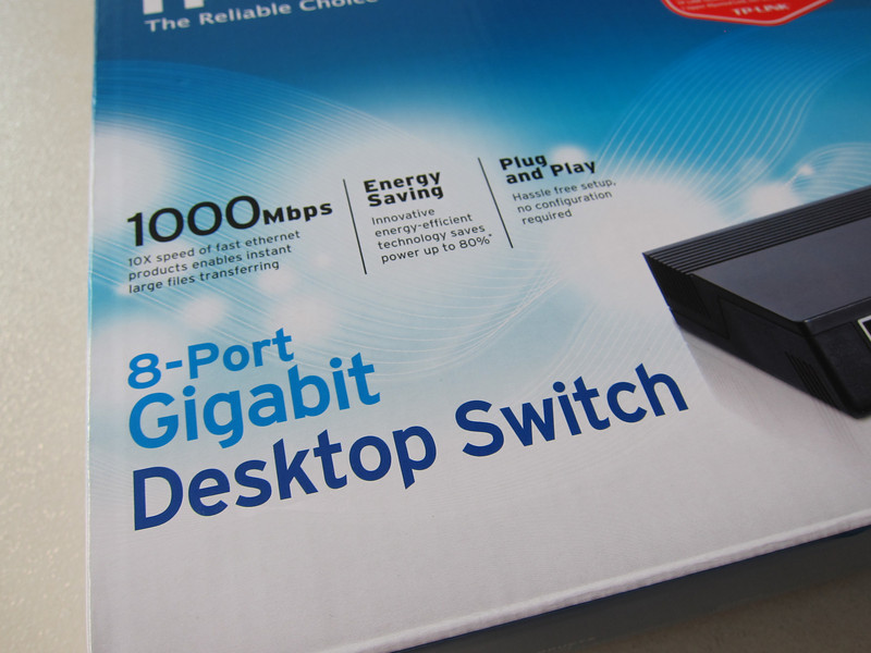 TP-Link 8 port gigabit switch TL-SG1008D