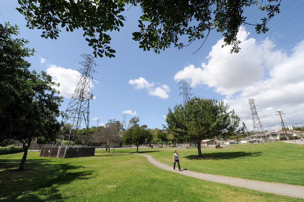 Description of . Monterey Park may lose a park and hiking trail that has shared with Southern California Edison for nearly five decades.  Edison has doubled its tower setback requirements, which means Monterey Park will have to cut down a 112 trees or lose access to Edison Trails Park, according to a petition letter Councilwoman Teresa Real Sebastian authored. About a dozen residents may have to change the landscaping on their private property because of the new restrictions. More than 450 residents have signed the petition, which is addressed to SCE Pressident Litzinger.
