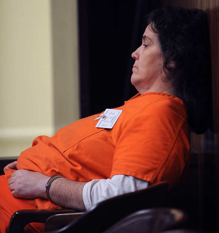 Description of . (4-9-13)--SAN BERNARDINO-METRO--Laurie Cone,was sentenced to life Tuesday April 9, 2013 for the killing of her husband, John