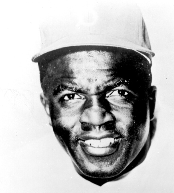 Description of . Jackie Robinson. Daily News file photo