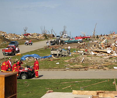 SmugMug subcriber 30Bones's neighborhood after a tornado