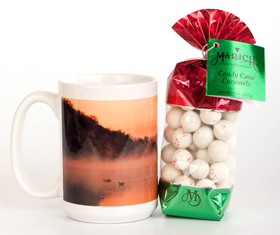 Candy Holiday Mugs