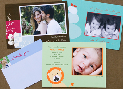 Greeting Cards through Tiny Prints