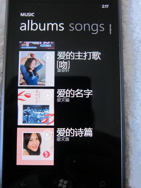 Samsung Omnia 7 Windows 7 Mobile
