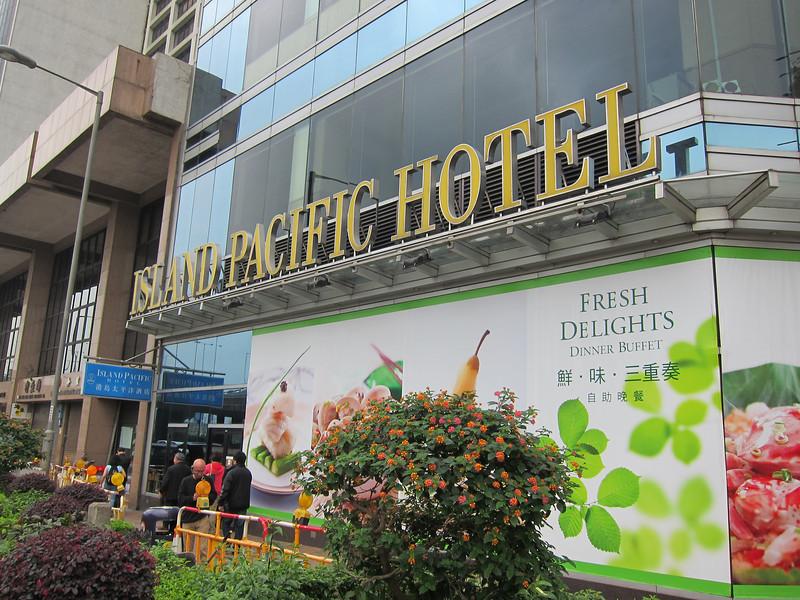 Island Pacific Hotel Hong Kong