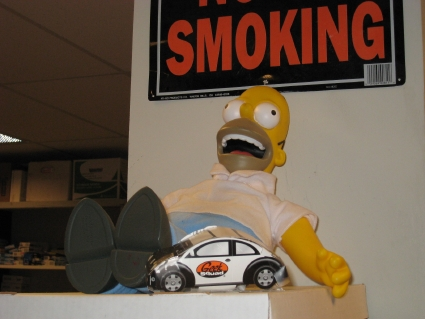 The Office Homer Simpson