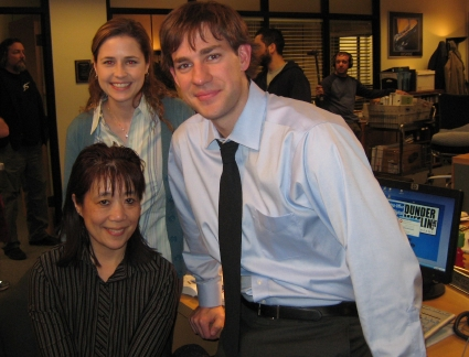 The Office John Krasinski Jenna Fischer