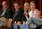The Office Paley Fest 2007 Ed Helms Jenna Fischer Angela Kinsey Brian Baumgartner