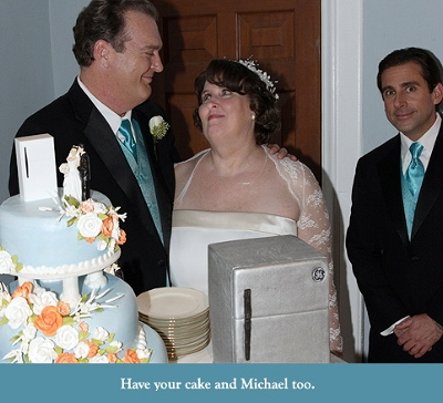 The Office Phyllis' Wedding ecard