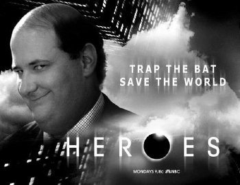 The Office Kevin Trap The Bat Save The World
