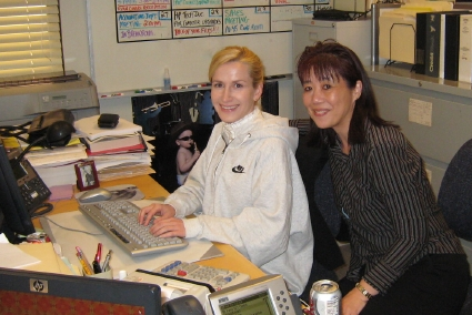 The Office Set Visit Angela Kinsey