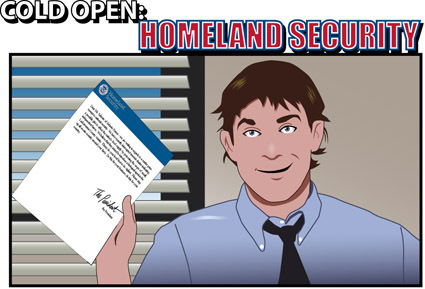 The Office Cold Open Homeland Security