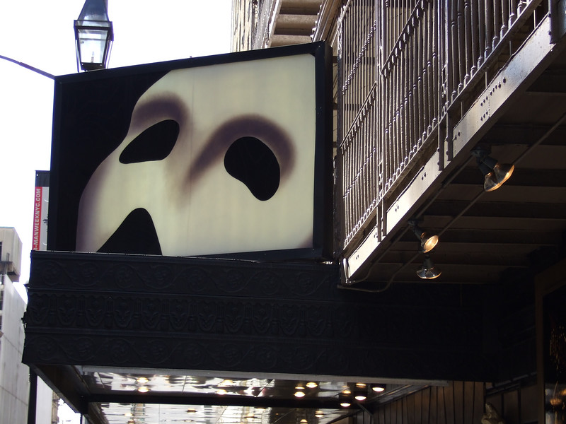 Phantom of the Opera at Majestic Theatre New York City