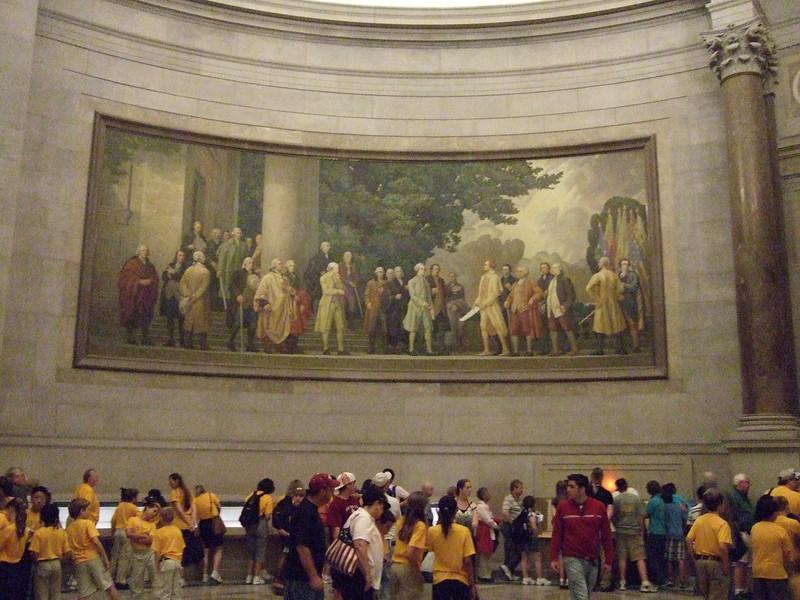 1936 Faulkner Murals at National Archives Washington DC