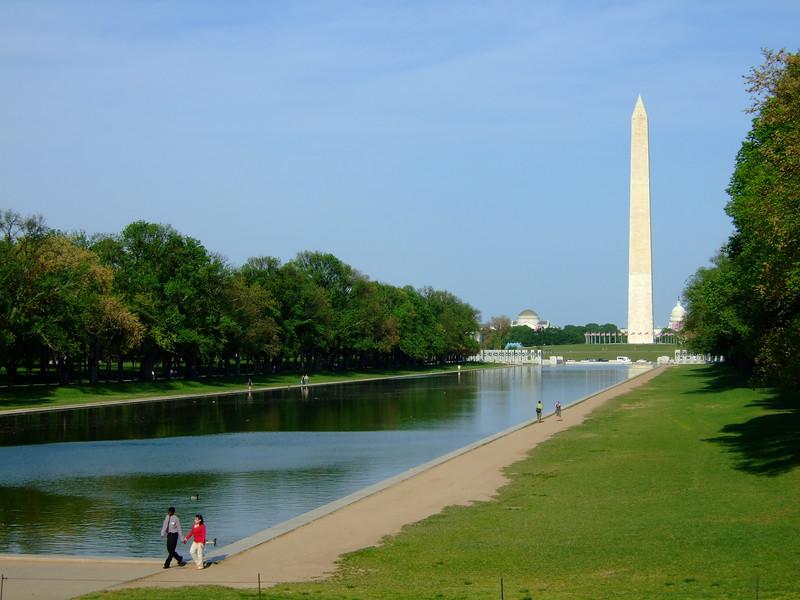 The Reflecting Pool Washington DC