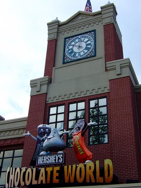 Hershey Chocolate Factory at Harrisbury