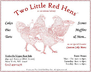 Two Little Red Hens