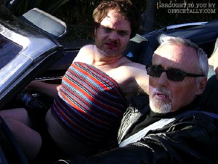 Rainn Wilson Dennis Hopper