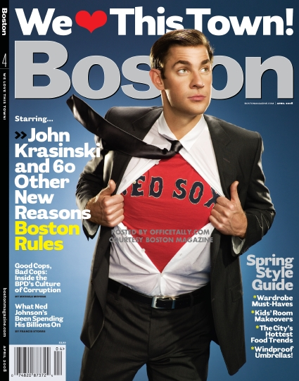 John Krasinski Boston Magazine