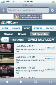 The Office iPhone