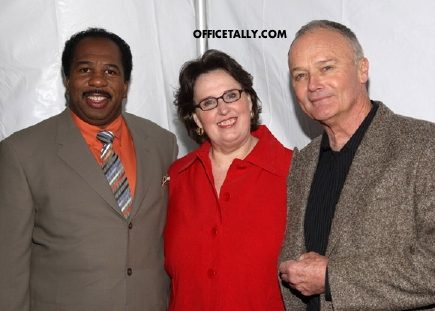 Leslie David Baker Phyllis Smith Creed Bratton