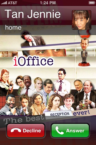 The Office iPhone Wallpaper