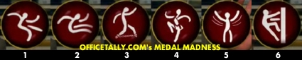 OfficeTally Medal Madness